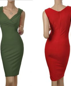 2014-New-Women-s-Summer-Dress-V-Neck-Sleeveless-Sexy-Cocktail-Party-Slim-Fit-Casual-Dresses