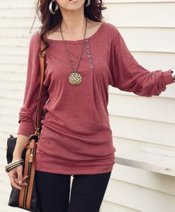 1PC Women Casual Sexy Cotton Batwing Sleeve Loose T-Shirt Tops Blouse Hoc  eBay_2014-11-18_14-29-44