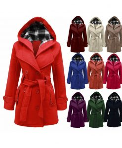 Cozy and colorful winter coats